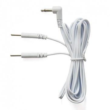 Cablu aparat fizioterapie tip jack mufa 3,5 mm pin 2 mm